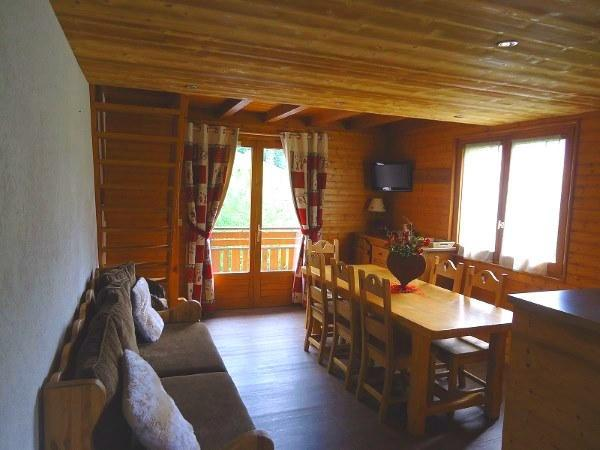Soggiorno sugli sci Appartamento su due piani 4 stanze con cabina per 7 persone (1652) - Résidence la Duche - Le Grand Bornand - Angolo pranzo