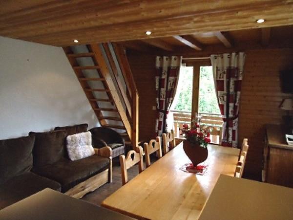 Soggiorno sugli sci Appartamento su due piani 4 stanze con cabina per 7 persone (1652) - Résidence la Duche - Le Grand Bornand - Tavolo