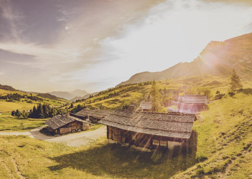 Alquiler al esquí Apartamento cabina para 4 personas - Résidence la Forclaz - Le Grand Bornand