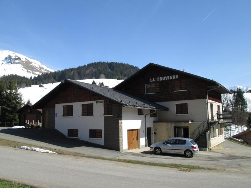 Location au ski Résidence la Touvière - Le Grand Bornand - Extérieur hiver