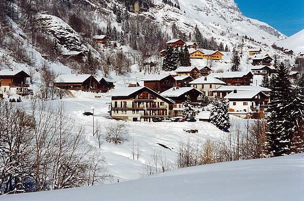 Wynajem na narty Résidence la Touvière - Le Grand Bornand - Zima na zewnątrz