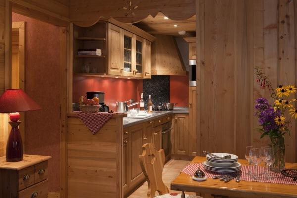 Wynajem na narty Apartament 3 pokojowy z alkową 6 osób (303) - Résidence le Cortina - Le Grand Bornand - Kuchnia