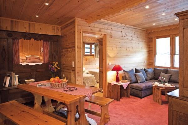 Wynajem na narty Apartament 3 pokojowy z alkową 6 osób (303) - Résidence le Cortina - Le Grand Bornand - Pokój gościnny