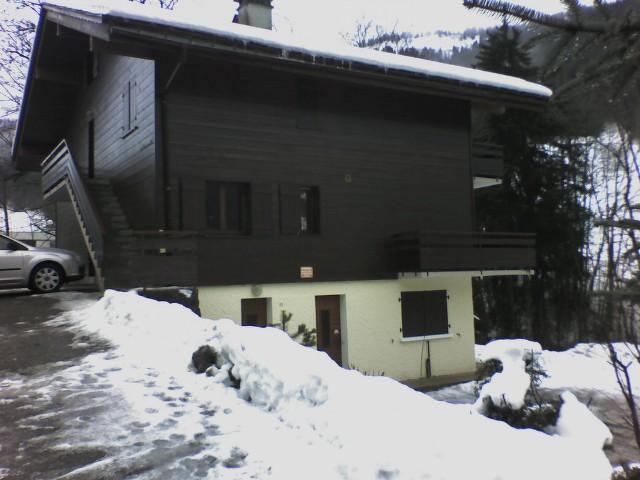 Wynajem na narty Apartament 2 pokojowy 4 osób (3061) - Résidence le Tardevant - Le Grand Bornand - Zima na zewnątrz