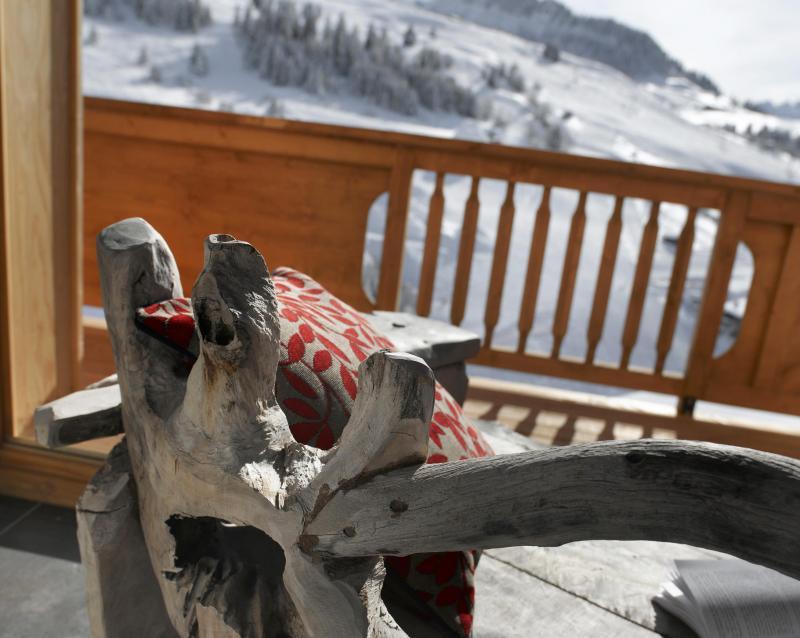 Location au ski Résidence le Village de Lessy - Le Grand Bornand - Réception