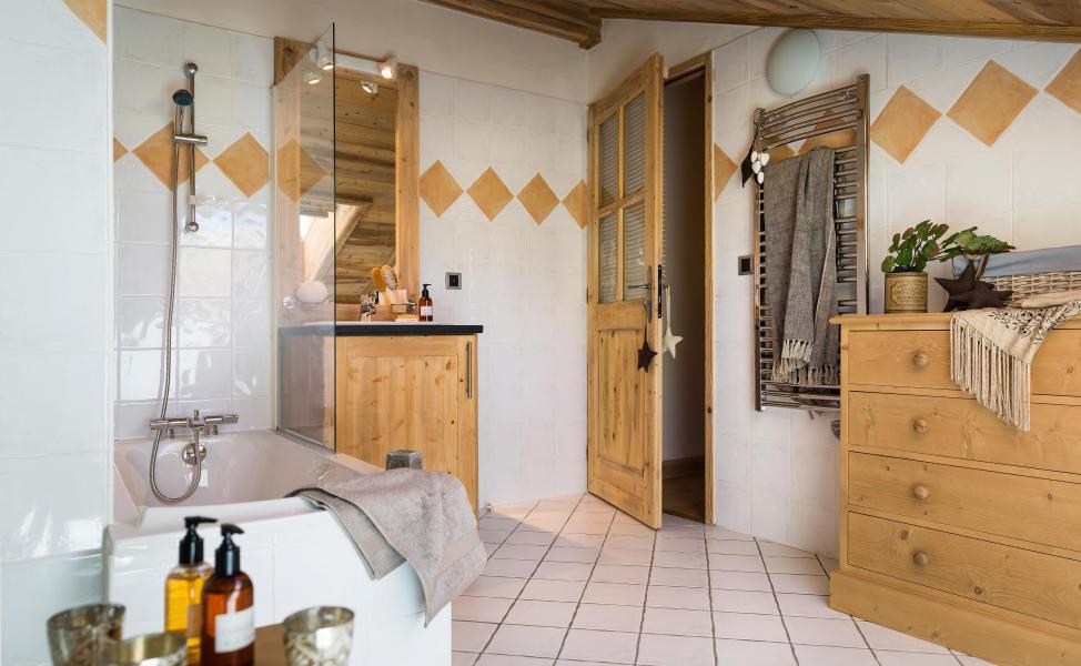 Alquiler al esquí Résidence le Village de Lessy - Le Grand Bornand - Cuarto de baño