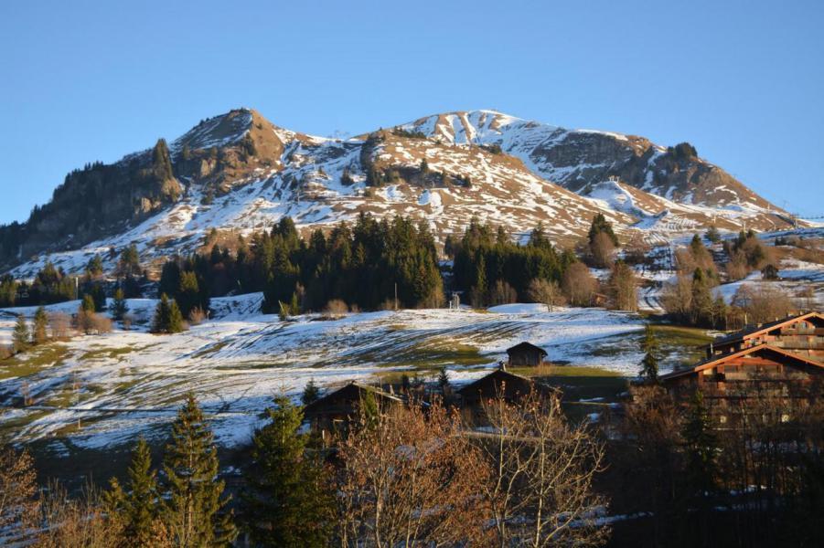 Location au ski Studio 4 personnes (08) - Résidence les Cîmes - Le Grand Bornand