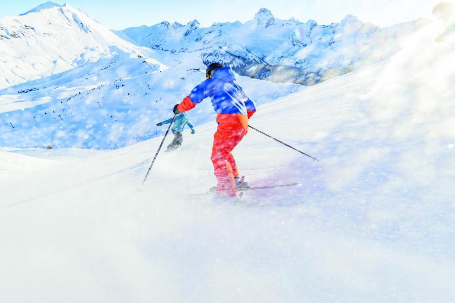 Soggiorno sugli sci Studio per 4 persone (003) - Résidence Tournette - Le Grand Bornand - Esteriore inverno
