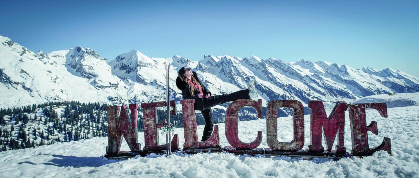 Soggiorno sugli sci Résidence Tournette - Le Grand Bornand - Esteriore inverno