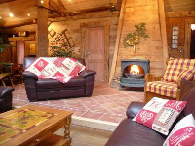 Rent in ski resort 6 room apartment 12 people (1) - Chalet Bon Vieux Temps - Le Grand Bornand - Living room