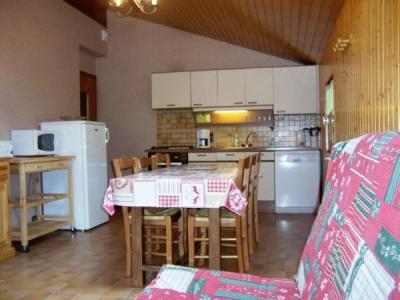 Location au ski Chalet Charvin - Le Grand Bornand - Kitchenette