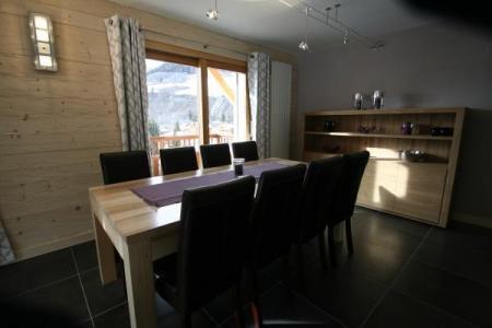Location au ski Appartement duplex 4 pièces cabine 8 personnes (305) - Chalet Chatillon - Le Grand Bornand - Salle à manger