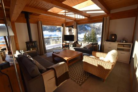 Rent in ski resort 6 room triplex chalet 11 people - Chalet d'Anne - Le Grand Bornand