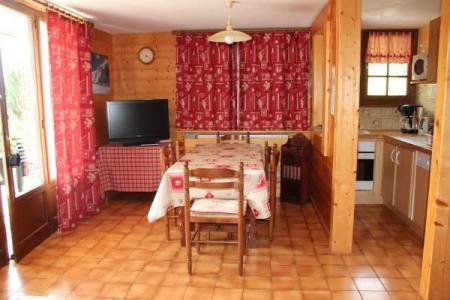 Location au ski Appartement 2 pièces cabine 4 personnes - Chalet Etche Ona - Le Grand Bornand - Séjour