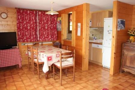 Location au ski Appartement 2 pièces cabine 4 personnes - Chalet Etche Ona - Le Grand Bornand - Table