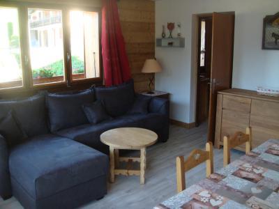 Location au ski Appartement 2 pièces cabine 6 personnes - Chalet Etche Ona - Le Grand Bornand - Séjour