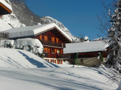 Holiday in mountain resort 4 room apartment 9 people (326) - Chalet Fleur des Alpes - Le Grand Bornand - Winter outside