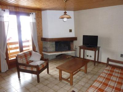 Location au ski Appartement 3 pièces 6 personnes (302) - Chalet La Cytheria - Le Grand Bornand - Cheminée