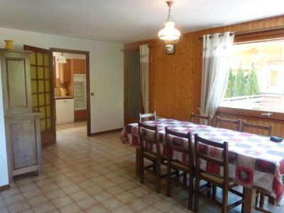Location au ski Appartement 3 pièces cabine 7 personnes (303) - Chalet La Cytheria - Le Grand Bornand - Salle à manger