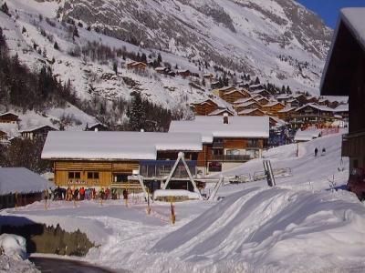 Location au ski Appartement 2 pièces 4 personnes (301) - Chalet La Cytheria - Le Grand Bornand - Extérieur hiver