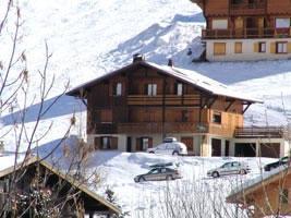 Location au ski Appartement 3 pièces cabine 7 personnes (303) - Chalet La Cytheria - Le Grand Bornand - Extérieur hiver