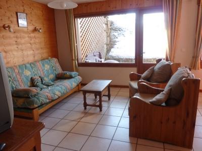 Location au ski Appartement 3 pièces 4 personnes (304) - Chalet Le Camy - Le Grand Bornand - Banquette