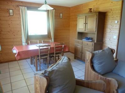 Location au ski Appartement 3 pièces 4 personnes (304) - Chalet Le Camy - Le Grand Bornand - Coin repas