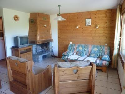 Location au ski Appartement 3 pièces 4 personnes (304) - Chalet Le Camy - Le Grand Bornand - Séjour
