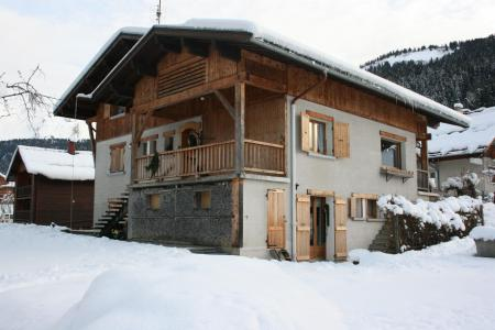 Holiday in mountain resort 2 room apartment 2 people - Chalet le Maillet - Le Grand Bornand - Winter outside