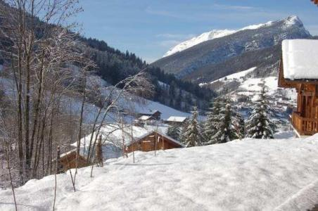 Holiday in mountain resort 2 room apartment 4 people - Chalet le Sabaudia - Le Grand Bornand - Winter outside