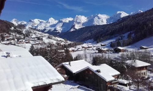 Rent in ski resort 2 room mezzanine apartment 4 people - Résidence Beaulieu - Le Grand Bornand