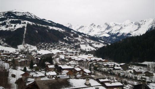 Location au ski Studio coin montagne 4 personnes (301) - Residence Digitale - Le Grand Bornand - Extérieur hiver