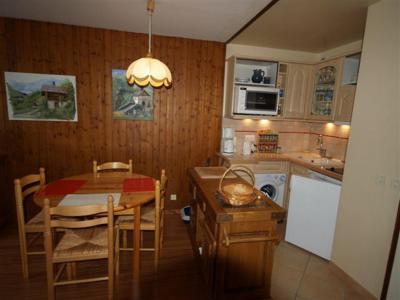 Location au ski Studio coin montagne 4 personnes (301) - Residence Digitale - Le Grand Bornand - Cuisine ouverte