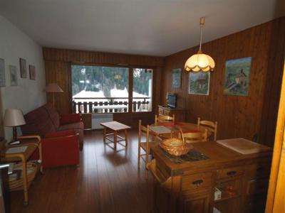 Location au ski Studio coin montagne 4 personnes (301) - Residence Digitale - Le Grand Bornand - Séjour
