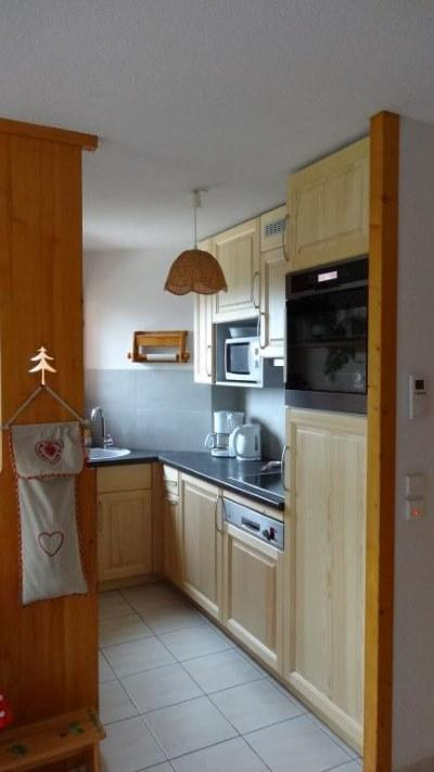 Location au ski Appartement 3 pièces 6 personnes (301) - Residence Florimontagne - Le Grand Bornand - Cuisine