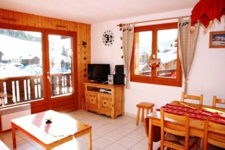 Location au ski Appartement 3 pièces 6 personnes (301) - Residence Florimontagne - Le Grand Bornand - Séjour