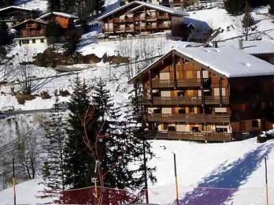 Location au ski Appartement 3 pièces 6 personnes (301) - Residence Florimontagne - Le Grand Bornand - Extérieur hiver