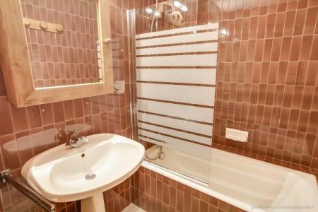 Location au ski Appartement 2 pièces 4 personnes (304) - Residence L'androsace - Le Grand Bornand - Baignoire
