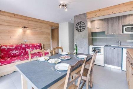 Location au ski Appartement 2 pièces 4 personnes (304) - Residence L'androsace - Le Grand Bornand - Kitchenette