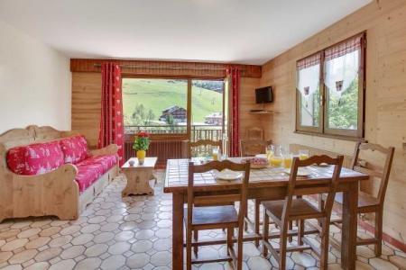 Location au ski Appartement 2 pièces 5 personnes (303) - Residence L'androsace - Le Grand Bornand - Séjour