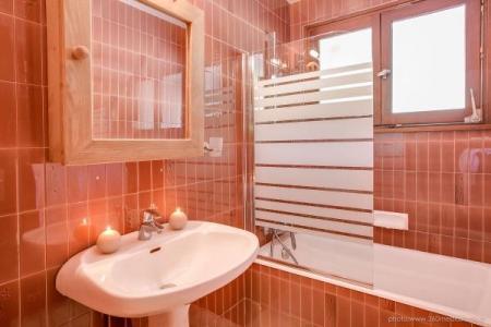 Location au ski Appartement 2 pièces 5 personnes (305) - Residence L'androsace - Le Grand Bornand - Baignoire