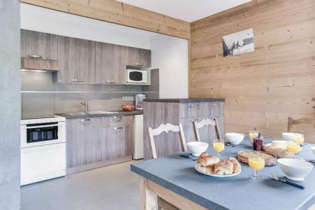 Location au ski Appartement 2 pièces 5 personnes (305) - Residence L'androsace - Le Grand Bornand - Kitchenette
