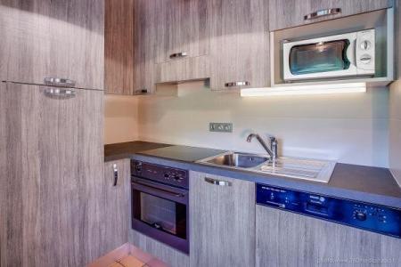 Location au ski Appartement 3 pièces 6 personnes (309) - Residence L'androsace - Le Grand Bornand - Kitchenette