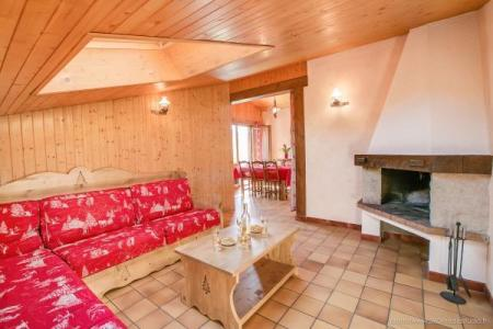 Location au ski Appartement 3 pièces 6 personnes (310) - Residence L'androsace - Le Grand Bornand - Cheminée