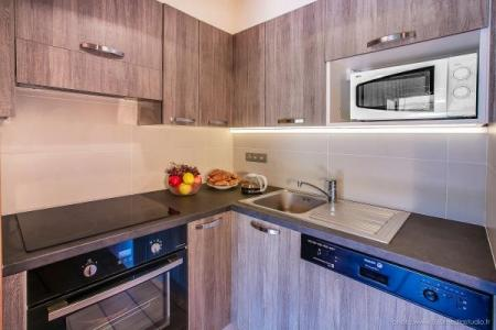 Location au ski Appartement 3 pièces 6 personnes (310) - Residence L'androsace - Le Grand Bornand - Cuisine