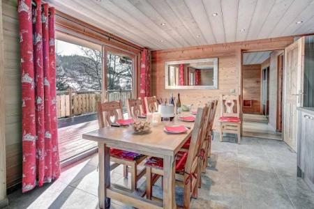 Location au ski Appartement 3 pièces 8 personnes (311) - Residence L'androsace - Le Grand Bornand - Table