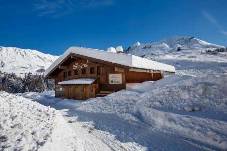 Location au ski Residence L'androsace - Le Grand Bornand - Extérieur hiver