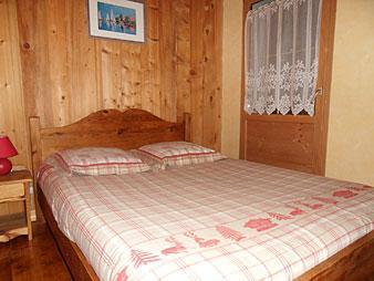 Location au ski Appartement 2 pièces coin montagne 5 personnes (003) - Residence La Cha - Le Grand Bornand - Chambre