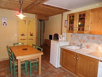 Location au ski Appartement 2 pièces coin montagne 5 personnes (003) - Residence La Cha - Le Grand Bornand - Salle à manger