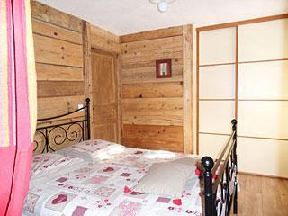 Location au ski Appartement 3 pièces 7 personnes (001) - Residence La Cha - Le Grand Bornand - Chambre